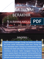 ASAR BELUM BERAKHIR