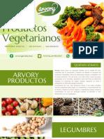 Arvory Productos Vegetarianos Portafolio.pdf