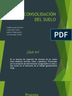 CONSOLIDACION DEL SUELO