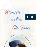 Air Force Women Brochure (1955)