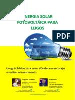 Ebook - Energia Solar Fotovoltáica para leigos