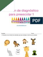 Ejercicios para preescolar