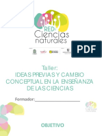 2 Ideas previas y cambio conceptual en la enseñanza de las ciencias