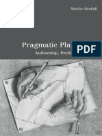 [University of Toronto Romance Series] Marilyn Randall - Pragmatic Plagiarism_ Authorship, Profit, and Power (2001, University of Toronto Press) - libgen.lc.pdf