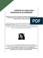 Intro MUTACIONES DE LA CIUDADANÍA Svampa