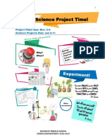 Science Project Guide 2019