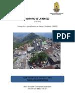 PLAN ESPECIFICO DE RESPUESTA ANTE PREVENCIÓN DE DESASTRES LA MERCED