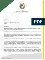 Presidente (E) Guaidó envía felicitación a Brasil por su Día de Independencia