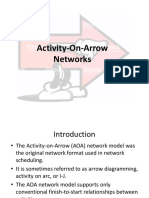 7- Construction management -Activity on Arrow