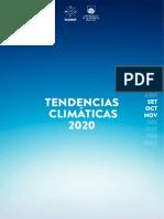 Tendencias Climaticas Set Oct Nov 2020