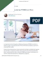 La Importancia de Las PYMES en Perú