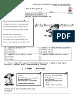 Guía N° 3 -Extraer información explícita e implícita de un mensaje.