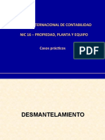 NIC 16 IME Practica - Desmantelamiento