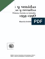 """23. Archila. """"Repertorios de la protesta"""" y """"Los actores sociales"""".pdf"""