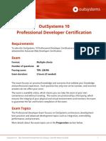 OutSystems 10 Professional Developer Certification