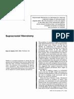 Supracrestal fiberotomy