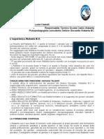 Relazione Stefano Bonaccorso e Lucia Castelli