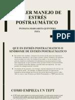TALLER ESTRES POSTRAUMATICO