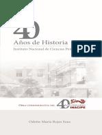 40 años de historia - INACIPE