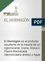 EL HORMIGÓN