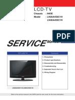 Samsung LN26A450C1H, LN40A450C1H Chassis N45E