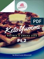 ★ Postres&Snacks Pt.2