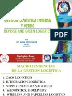 MEMORIAS GESTION LOGISTICA INVERSA Y VERDE, CONFERENCIA REVISTA HLR EVIEW SEPTIEMBRE DE 2014