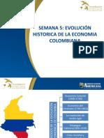 SEMANA 5 Evolución historica econimica de colombia