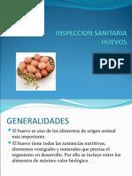 Inspección Sanidad - Huevos