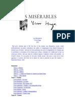 Les Misérables Sommaire