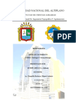 TIPOS DE YACIMIENTO