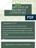 Topic 2- Importance of CL