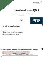 Custom download tools Q&A thp 1