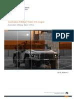 Australian Military Sales Catalogue 2018-2019