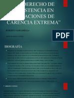 El derecho de resistencia en situaciones de carencia extrema - Roberto Gargarella