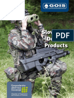 Slovenian Defence Products 2010-2017