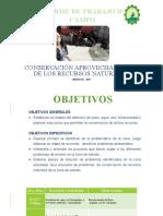 EXPOCICION DE CONCERVACION