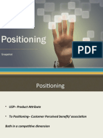 2. Positioning Snapshot