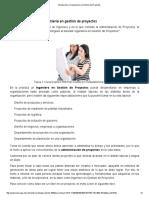 1.2. Introducción a la ingeniería en gestión de proyectos