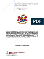 ESTUDIO PREVIO apoyo terapeutico, exaqmenes y procedimientos qx en otorrinolaringologia 2020