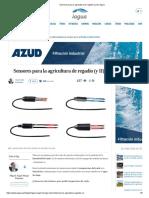 Sensores para la agricultura de regadío (y II) _ iAgua