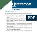 API4 Higiene y Medio Ambiente