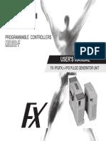 FX2N-1PG - User's Manual JY992D65301-N (04.15)