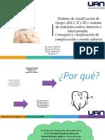 ASA I-II-III odontopediatria