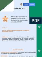 Divulgacion Resolucion 1444 DE 2018