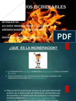 MATERIALES INCINERABLES PRESENTACION