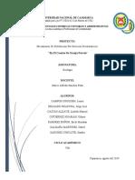 MECANISMOS DE RETRIBUCIÓN POR SERVICIOS ECOSISTÉMICOS EN EL  CASERIO DE GRANJA PORCÓN