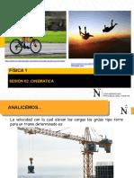 F1_S02_PPT_CINEMATICA-PPT SEGUNDA SEMANA FISICA