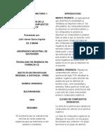 Informe 1, Quimica organica