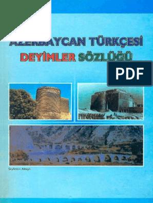 Azerbaycan Turkcesi Deyimler Sozlugu By Altayli S Z Lib Org Pdf